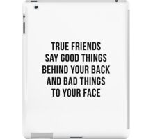 True Friends iPad Case/Skin