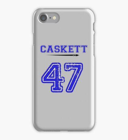 Caskett 47 Jersey iPhone Case/Skin