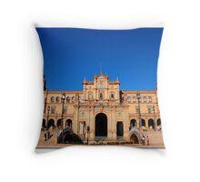 Seville - Plaza de Espana Throw Pillow
