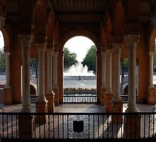 Seville - Plaza de Espana by Andrea Mazzocchetti