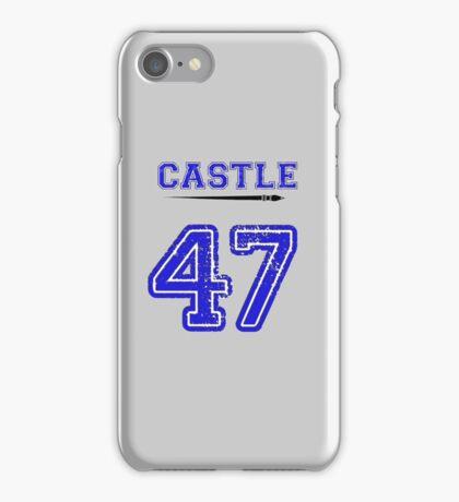 Castle 47 Jersey iPhone Case/Skin