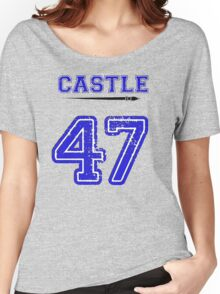 Castle 47 Jersey Women's Relaxed Fit T-Shirt