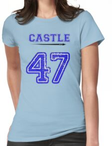 Castle 47 Jersey Womens Fitted T-Shirt