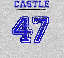 Castle 47 Jersey Mens V-Neck T-Shirt