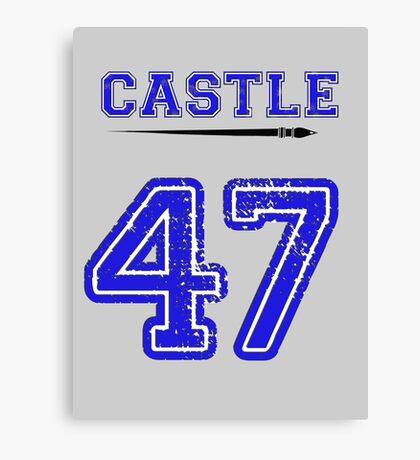 Castle 47 Jersey Canvas Print