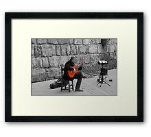 Seville - Splash of Flamenco  Framed Print