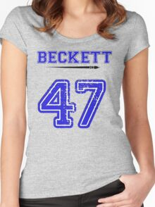 Beckett 47 Jersey Women's Fitted Scoop T-Shirt