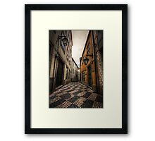Alley of the Broken Hearts Framed Print