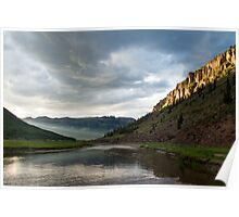 Dusk - Rio Grande Headwaters Poster