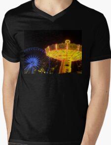 Fun Fair Mens V-Neck T-Shirt