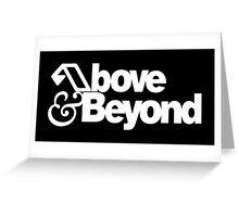 Anjunabeats Above Beyond Greeting Card