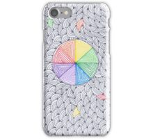 Rainbow circles iPhone Case/Skin