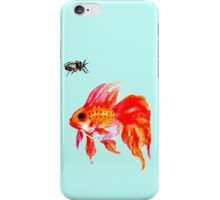 Cicada and Goldfish iPhone Case/Skin