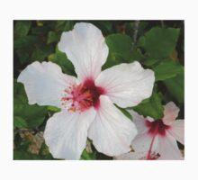 White hibiscus Kids Clothes