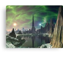 Euphoria Tower on Planet Electra Canvas Print