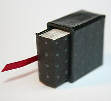 Lettres aux Cubes : W - miniature book n°1 by Pascale Baud