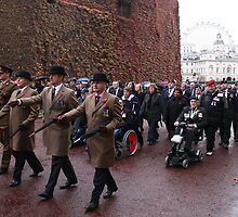 The March Past on Remembrance Day 2010 by Timothy Adams
