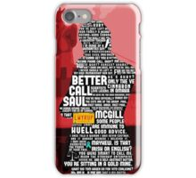 Saul Goodman Quotes iPhone Case/Skin