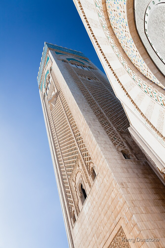 Hassan II Mosque by Kerry Dunstone