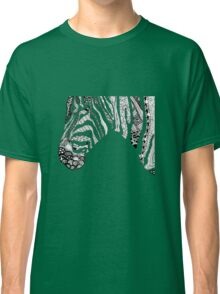 Pen and Ink Zebra Classic T-Shirt