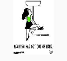 Crazy Feminist. Unisex T-Shirt