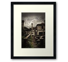 All my lost affections  Framed Print