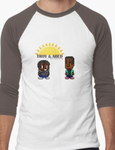 Troy and Abed in the mooooorning! Men's Baseball ¾ T-Shirt