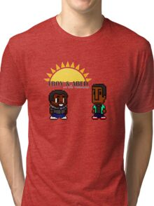 Troy and Abed in the mooooorning! Tri-blend T-Shirt