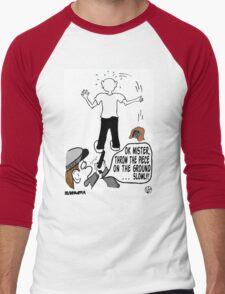 Police Get It Wrong. Men's Baseball ¾ T-Shirt