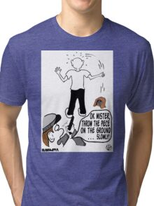 Police Get It Wrong. Tri-blend T-Shirt