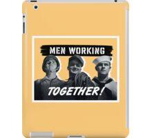 Men Working Together -- World War Two iPad Case/Skin