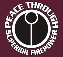 Peace Through Superior Firepower by simonbreeze