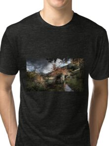 The Fence and the Stream Tri-blend T-Shirt