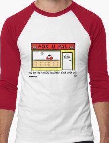 Failed Takeaway. Men's Baseball ¾ T-Shirt