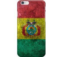 Bolivia Grunge iPhone Case/Skin