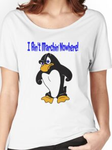 Angry Penguin Women's Relaxed Fit T-Shirt