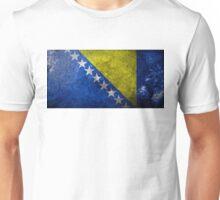 Bosnia Grunge Unisex T-Shirt