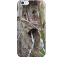 Speaking With A Barbed Tongue iPhone Case/Skin