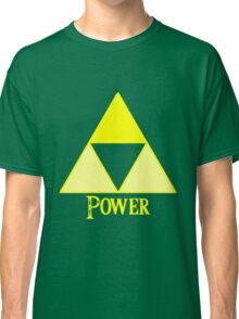 Triforce of Power Classic T-Shirt
