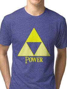 Triforce of Power Tri-blend T-Shirt