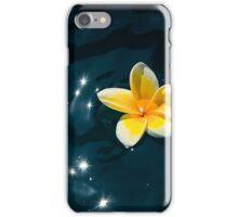 Plumeria Sparkle iPhone Case/Skin
