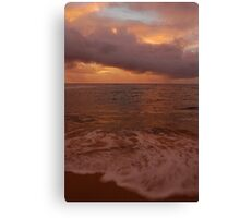 Morning Takes Hold... Kauai Sensual Series Canvas Print