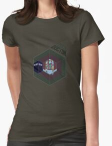 The 4th Doctor Womens Fitted T-Shirt