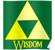 Triforce of Wisdom Poster