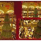 The Christmas tree at the store NK - Stockholm by Paola Svensson