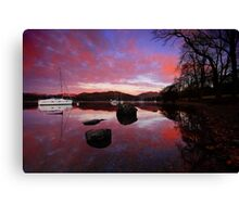 Waterhead - Lake District Canvas Print