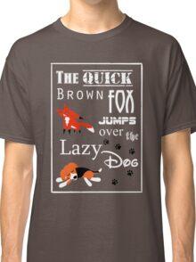 Quick Brown Fox Classic T-Shirt