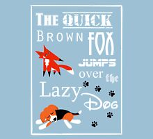 Quick Brown Fox Unisex T-Shirt