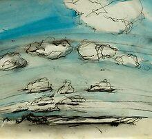Mersea Island cloud study 2 by Doug Selway