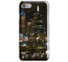 Melbourne by night  iPhone Case/Skin